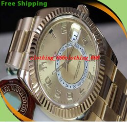 Wholesale Factory Supplier Luxury New Sport Model Mens Sky Dweller Watch Men Date Gold Watches Dress Business Perpetual specialized Wristwatch