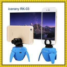 Wholesale 2016 iCanany RK03 remote Elf mini panorama robot for selfie photography support IOS android rotate mobile phone
