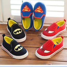 Wholesale 2014 Hot sell hero alliance superman batman ironman spiderman fashion shoes kids sneakers boys girls children kids leisure boot