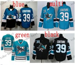 Wholesale san jose sharks logan couture Cheap Hockey Jerseys ICE Winter mens women kids Stitched Jersey