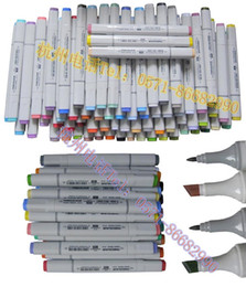 Wholesale color finecolour sketch marker set alcohol based ink so many colors but cost you less cheap art markers to artist student