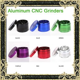 Wholesale New Layered Grinders Aluminum CNC Material Top Quality Metal Grinders mm mm mm Layered Metal Tooth Grinder VS Sharp Stone Grinders