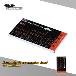 Wholesale Favourite Sky Series LED Programming Card for RC Brushless Airplane ESC order lt no track