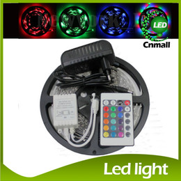 LED Strip 5M 300Led 3528 SMD Strip Light +12V 2A Power Adapter Flexible Light Led Tape Home Decoration Lamps Christmas Strips Led Lights