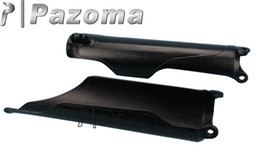 Wholesale Motorcycle Off Road Dirt bike FORK GUARDS For HONDA CRF250 CRF450 CR125 CR250 Black Pazoma