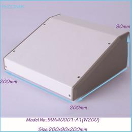 iron box amplifier enclosure steel white extrusion box (1pcs ) 200x90x200mm szomk project box pcb steel enclosure, industrial metal box