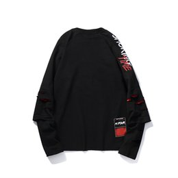 Spot High Quality European High Street Fashion Comfortable Hip-hop ,BF Round Collar Letter Print Long Sleeve Pullover Hoodie