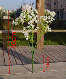 Gypsophila baby's breath artificial flowers PU flower Plant Home Wedding Decoration decorative flowers bridal bouquet decorat PF01