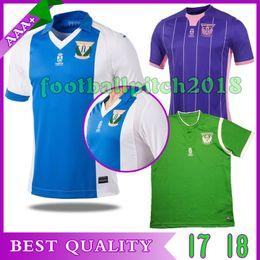 TOP Best quality 2017 2018 Club Deportivo Leganés S.A.D. Home away third 3rd Soccer jerseys 17 18 Leganes men football shirts custom shirt