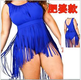 Plus Size Bikini Set 2014 New Women Tassels Swimwear Push Up Bikini For Women plus size Swimsuit Bathing Suit 3XL-5XL