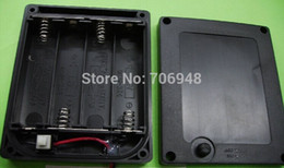 Wholesale NEW waterproof aa battery case with cover and switch for AA battery