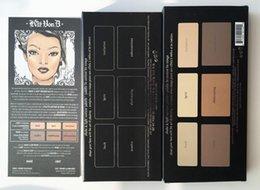 Wholesale 2016 Kat Von contour palette shade and light Oz Oz net weight g