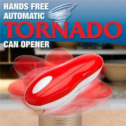 Wholesale Brand New Tornado Can Opener Hands Free Multi function Automatic Electric Openers One Touch With Logo Packing