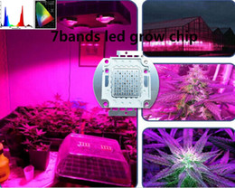 Best for hydroponics,DIY LED grow light,100w led chip 7bands full spectrum for growing,100w grow led chip 10PCB lot cob LED Grow Lights