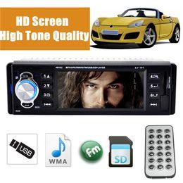 DVD del coche nuevo coche Stereo Radio 1 DIN en el tablero de USB / FM / SD / MMC / WMA / AUX / MP3 Player HD Pantalla 12V orden $ 15 sin seguimiento desde el jugador del sd para la televisión fabricantes