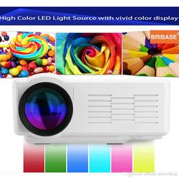 Wholesale BL LCD Projector HD P Portable Projector lumens Home Theater Cinema USB SD VGA ATV HDMI