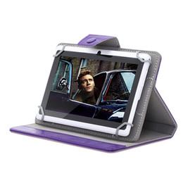 """Soportar pulgadas en Línea-Buque de EE.UU.! 7 pulgadas 9 pulgadas 10 pulgadas de cuero de la cubierta elegante de la caja del caso del soporte para 7 """"9"""" 10 """"Tablet PC 3G phablet"""