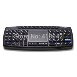 Wholesale-MINI wireless keyboard and mouse touch pad computer keyboard