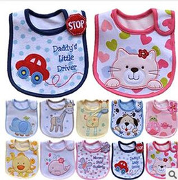 Cotton Baby Bib Infant Towels Baby Waterproof Bib Cartoon Baby Wear With Different Model