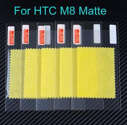 Pantallas digitales en venta-5 pulgadas LCD antideslumbrante mate protector de pantalla para HTC One M8 huella digital anti helada del protector de la pantalla de cine Ninguna caja al por menor