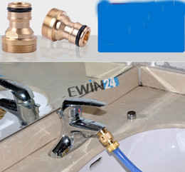 Wholesale High quality HOSE CONNECTOR Faucet Adapter Washer Shower Hose Connector Car Wash Water Gun