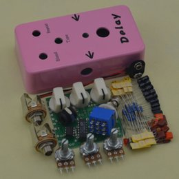 Wholesale Build your own DIY Delay Guitar Effect Pedal Electric Pedals