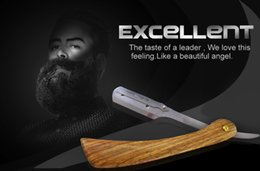 Wholesale RenRen Hiqh Quality Stainless Stell DISPOSABLE STRAIGHT RAZOR Convenient Fashionable