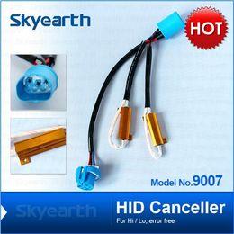 H4 H13 9004 9007 Hi-low HID Cancelador lámpara de niebla error resistencia de carga libre 50w 6-8 ohm sin cancelación de parpadeo cancelador para luces led / lámpara desde las luces de carga proveedores