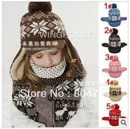 Wholesale Children plus velvet ear cap band the brim children hat colors