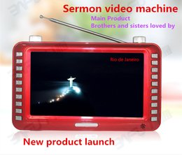 Wholesale New Listing inch version of the Bible to preach the gospel video machine G G player Christian brothers and sisters in the faith nece