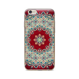 Wholesale For iPhone 4 4S 5 5S 5C 6 6S 6Plus Classic Pattern Red Background Of Skin TPU Silicone Gel Protective Cover