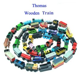 Wholesale Thomas The Train Cartoon Toys Styles Thomas Friends Wooden Train Car Toys Best Christmas Gifts DHL