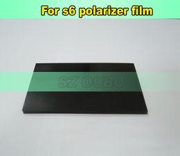 LCD Filter Polarizing Film For sumsung galaxy S6 G9200 Original LCD Polarizer Film Polarization Polaroid Polarized Light Film