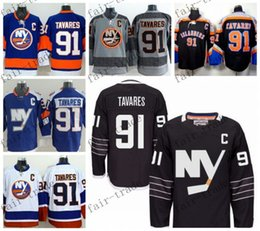 Wholesale 2016 Alternate New York Islanders John Tavares Ice Winter Jersey Cheap Hockey Jerseys Authentic Stitched Size
