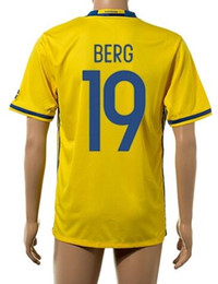 Wholesale Thai Quality Customized New season men Swedish BERG Soccer Jerseys Shirts Discount Cheap LARSSON LUSTIG Sports Wear tops