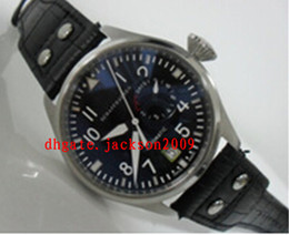 Wholesale Luxury Watches Sapphire Power Reserve Big Pilot Day Day Black Automatic Men s Watch Watches