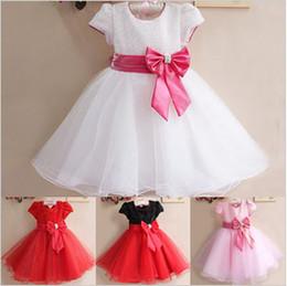 Платье для девочки с бантом