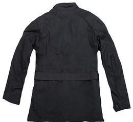 Descuento chaquetas de los hombres de cera Fall-2015 chaqueta encerada leyenda de la moda hombres de la chaqueta impermeable Trialmaster Soy leyenda roadmaster encerado G11 chaqueta de algodón