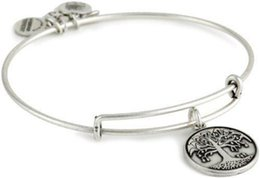 Wholesale 2015New Fashion Alex and Ani Cool and life tree Charm Copper Bangles and Braclets Design