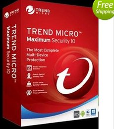 Wholesale Trend Micro Titanium Maximum Security Year newest edition