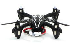 Promotion drones de caméras aériennes Gros-2 pcs OEM Hubsan H107C RC Helicopter UFO Gyroscop 310 H108C Mini 4CH aérienne Caméra Quadrirotor Aircraft LCD Drone de contrôle à distance