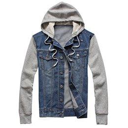 2015 New Fashion Men's Fleece Hoodies Cowboy Men Jacket Tracksuits Denim Jacket Men Jeans Jacket Men Hoodies And Sweatshirts