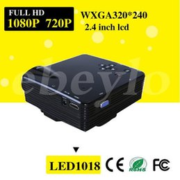 Projector Full HD Mini LED Video TV Beamer Projector 1080P for Home Theater Cinema with HDMI  AV VGA SD USB Projectors V712