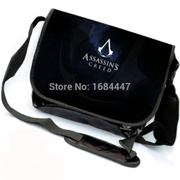 Wholesale-Assasins creed Messenger Bag School Shoulder Bag