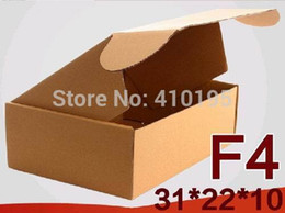 Wholesale CM F4 Corrugated Paper Packing Box for apparel gift mailing packaging