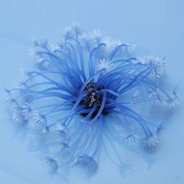 Wholesale Aquarium Fish Tank Blue Artificial Software Fake Coral Plant Decoration Beautiful High Quality Price order lt no track