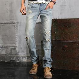 2016 TOP Mens Jeans new sales Vintage Jeans hot Embroidery beauty men Straight Cotton Denim Jeans Large Size