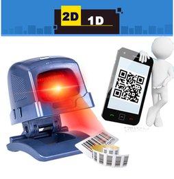 Wholesale Desktop Omnidirectional D D CCD Image Laser Barcode Scanner for Supermarket USB POS Bar code Reader Auto Scan