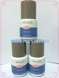 Wholesale Nails Tools Nail Gel IBD Non Acid Nail Bonder Primer Prime Base UV gel Glue For nail art salon oz ml High quality amp
