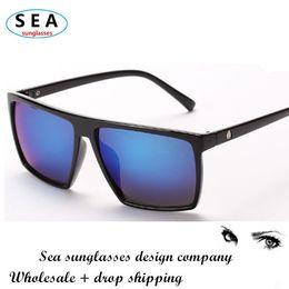 SEA FASHION square sunglasses women brand designer glasses men oculos de sol feminino gafas vintage sunglass color lenes s0334